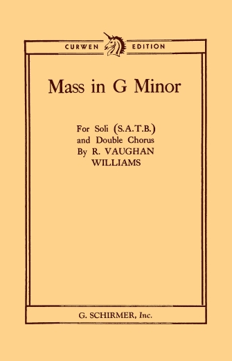 Product Cover for Mass in g minor
