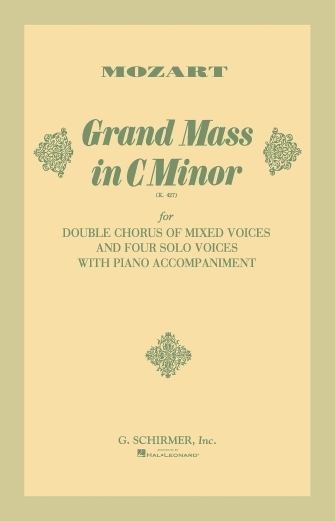 Product Cover for Grand Mass in C Minor, K. 427