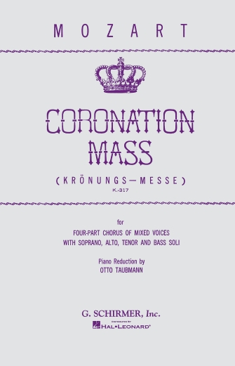 Product Cover for Coronation Mass, K.317