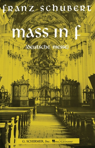 Product Cover for Mass in F (Deutsche Messe)