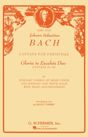 Product Cover for Cantata No. 191: Gloria in Excelsis Deo