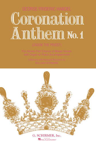 Product Cover for Coronation Anthem No. 1: Zadok the Priest