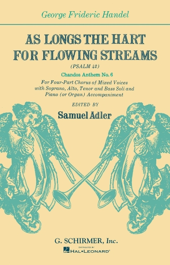 Product Cover for As Longs the Hart for Flowing Streams (Psalm 42)