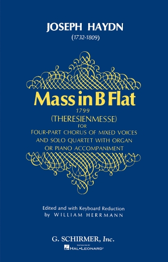 Product Cover for Mass in B-Flat (Theresienmesse)