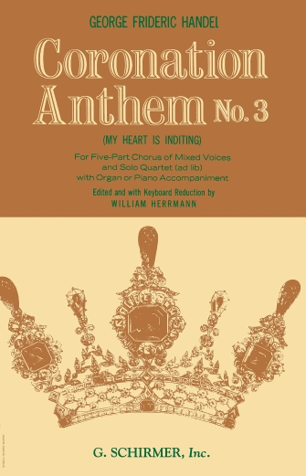Product Cover for Coronation Anthem No. 3: My Heart is Inditing