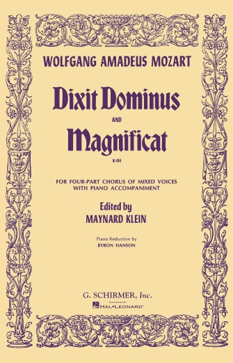 Product Cover for Dixit Dominus and Magnificat, K.193