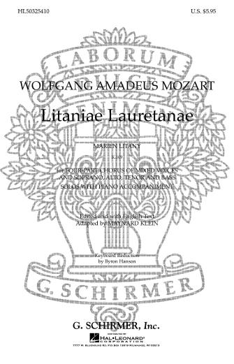 Product Cover for Litaniae Lauretanae K.109