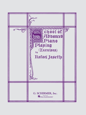 Product Cover for School of Advanced Piano Playing