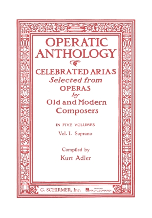 Product Cover for Operatic Anthology – Volume 1