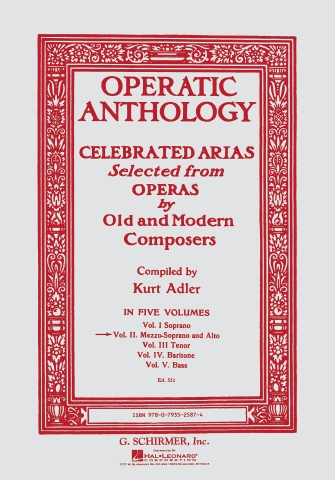 Product Cover for Operatic Anthology – Volume 2