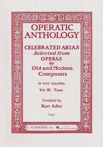 Product Cover for Operatic Anthology – Volume 3