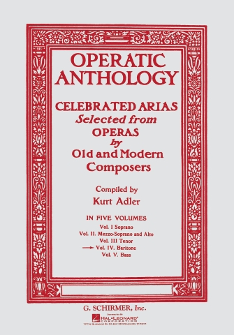 Product Cover for Operatic Anthology – Volume 4