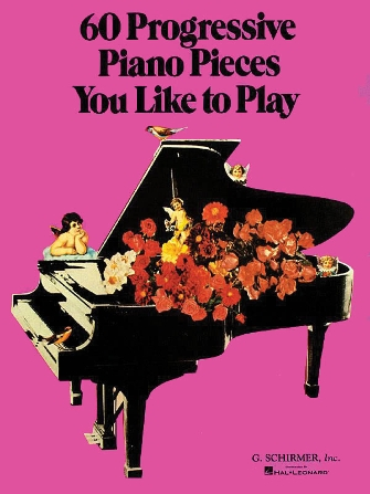 Product Cover for 60 Progressive Piano Pieces You Like to Play