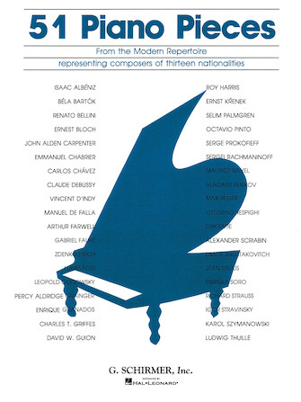 Product Cover for 51 Pieces from the Modern Repertoire
