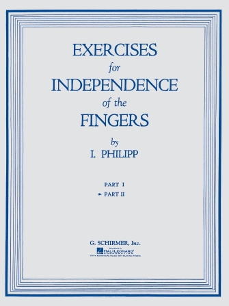 Product Cover for Exercises for Independence of Fingers – Book 2
