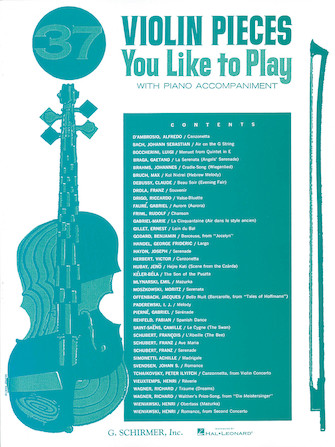 Product Cover for 37 Violin Pieces You Like to Play