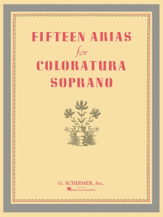Product Cover for Fifteen Arias for Coloratura Soprano