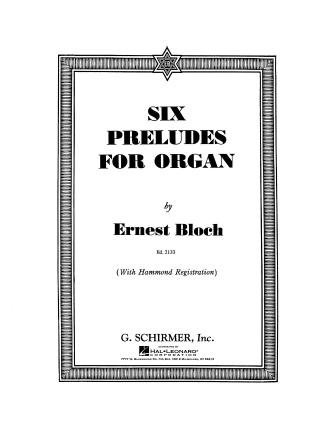Product Cover for 6 Preludes