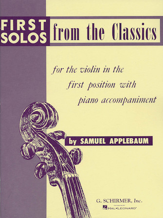 Product Cover for First Solos from the Classics