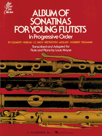 Product Cover for Album of Sonatinas for Young Flutists
