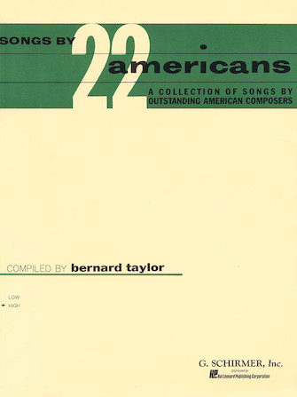 Product Cover for Songs by 22 Americans