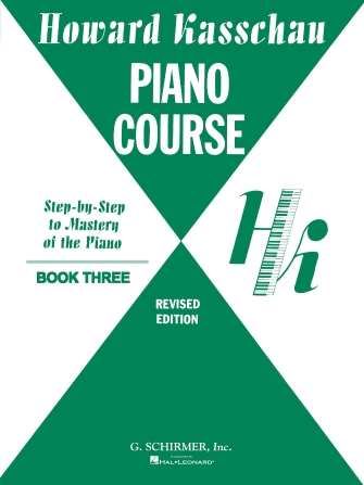 Product Cover for Piano Course – Book 3: Step by Step Mastery Of the Piano