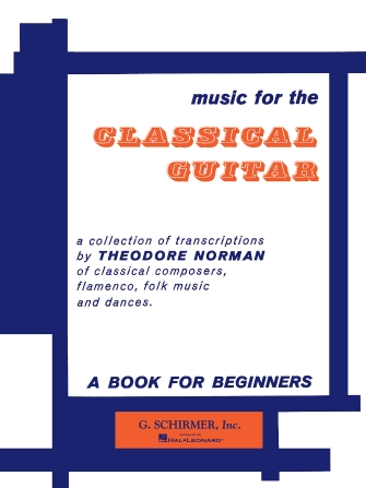 Product Cover for Music for the Classical Guitar – Book 1