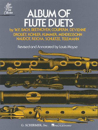 Product Cover for Album of Flute Duets