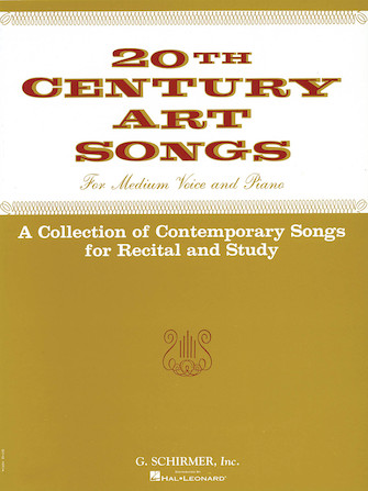 Product Cover for Twentieth Century Art Songs for Recital and Study