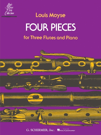 Product Cover for Four Pieces for Three Flutes and Piano