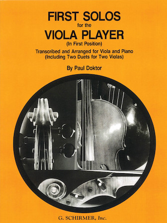 Product Cover for First Solos for the Viola Player