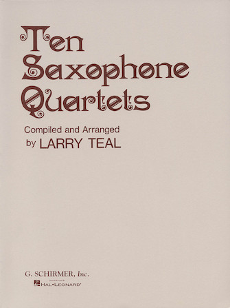 Product Cover for Ten Saxophone Quartets