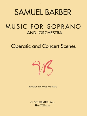 Product Cover for Music for Soprano and Orchestra