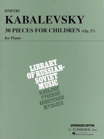 Product Cover for 30 Pieces for Children, Op. 27