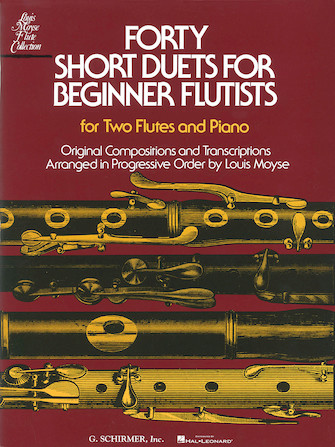 Product Cover for Forty Short Duets for Beginner Flutists