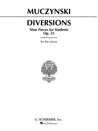 Product Cover for Diversions, Op. 23
