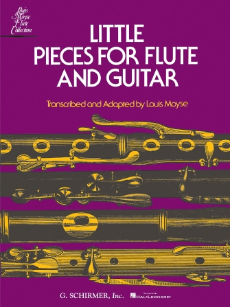 Product Cover for Little Pieces for Flute and Guitar
