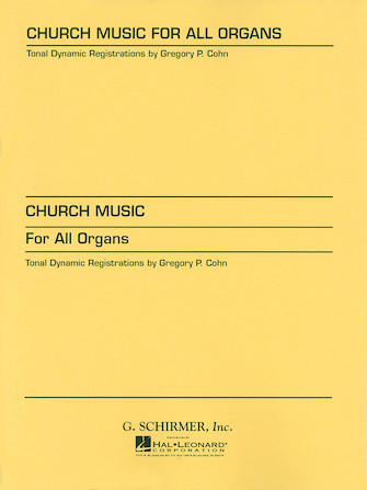 Product Cover for Church Music for All Organs