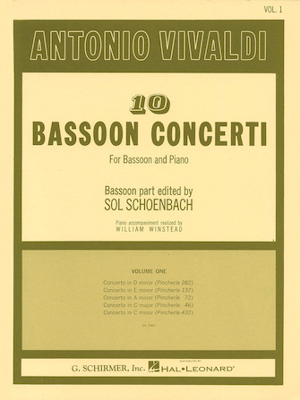 Product Cover for 10 Bassoon Concerti, Vol. 1