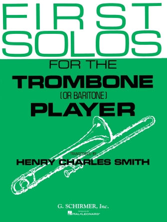 Product Cover for First Solos for the Trombone or Baritone Player