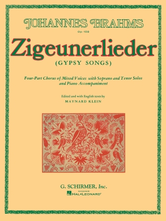 Product Cover for Zigeunerlieder – Gypsy Songs wth Soprano & Tenor Solos