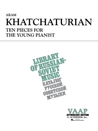 Product Cover for 10 Pieces for the Young Pianist