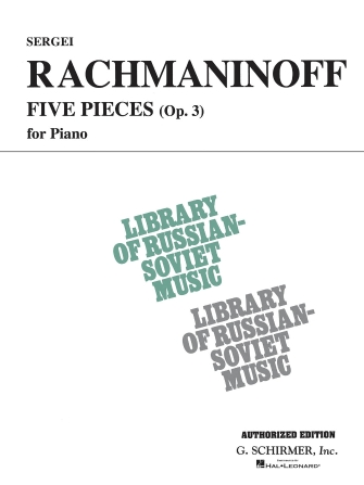 Product Cover for 5 Pieces, Op. 3 (VAAP Edition)