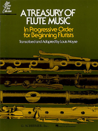 Product Cover for Treasury of Flute Music