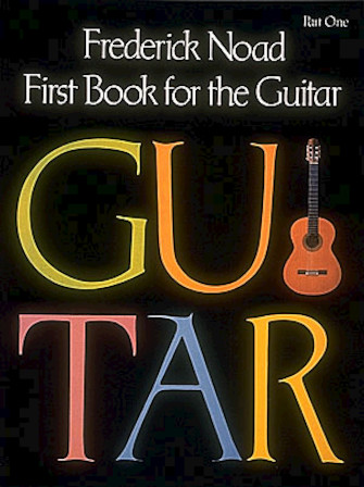 Product Cover for First Book for the Guitar – Part 1