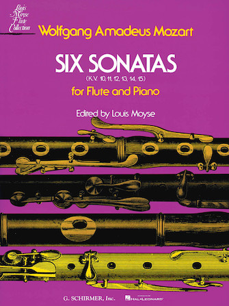 Product Cover for Six Sonatas, KV 10-15