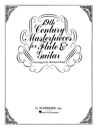 Product Cover for 19th Century Masterpieces for Flute and Guitar