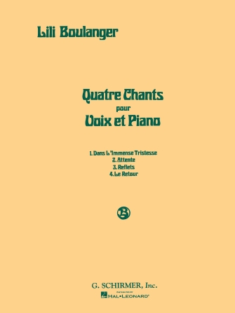 Product Cover for Quatre Chants (Four Songs)