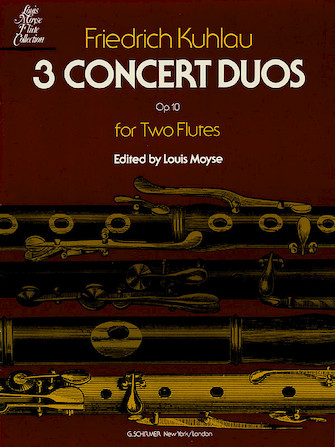 Product Cover for 3 Concert Duos, Op. 10b