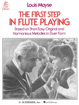 Product Cover for The First Step in Flute Playing – Book 1